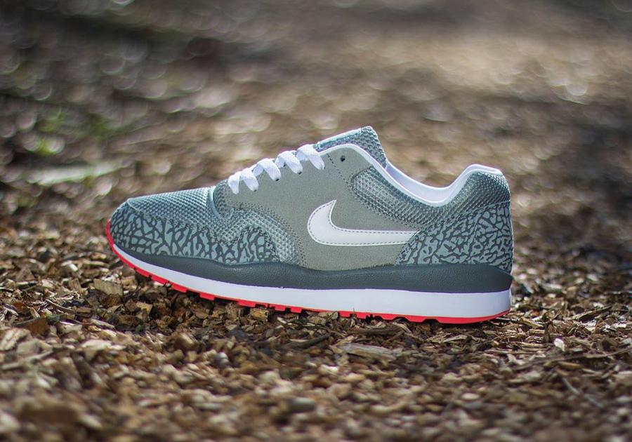 nike air max one grey safari elephant