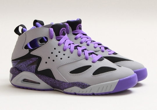 Nike Air Tech Challenge Huarache – Wolf Grey – Purple Venom