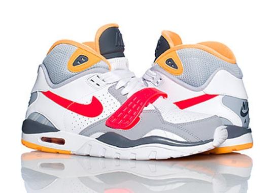 Nike Air Trainer SC II High – White – Grey – Red – Yellow
