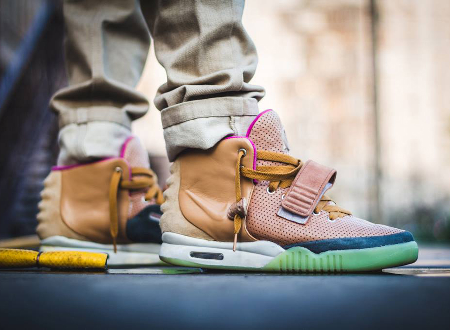 It s not often you see a customized pair of the Air Yeezy 2 7ae15f23a