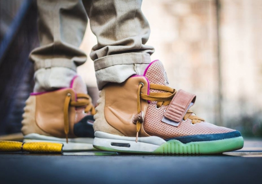 "Nike Air Yeezy 2 ""Net"" Customs by Maggi"