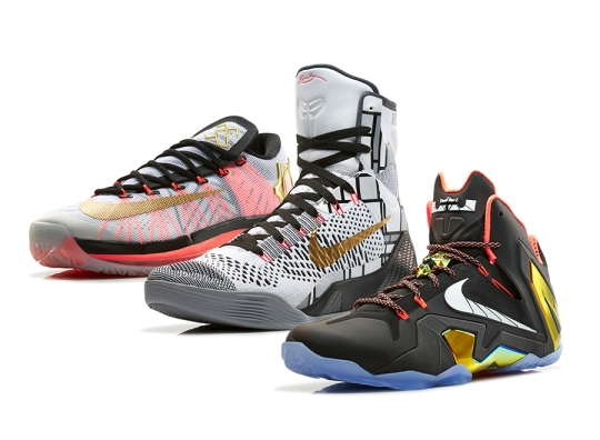 "Nike Basketall Elite Series 2014 ""Gold Collection"""