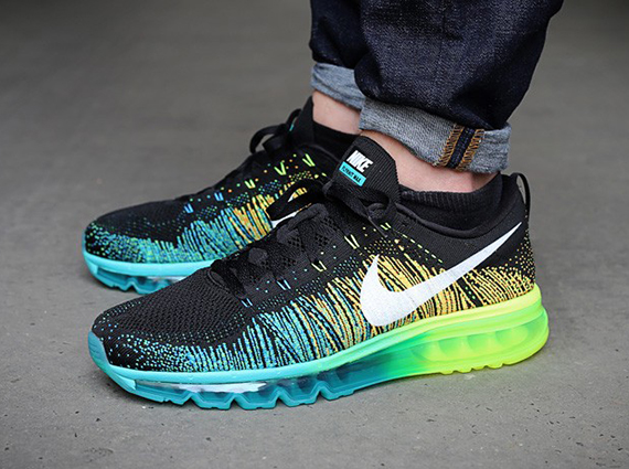 When initially announced, the fact that the Swoosh was going to be morphing the patented Air Max technology and their new school flyknit woven look into the ...