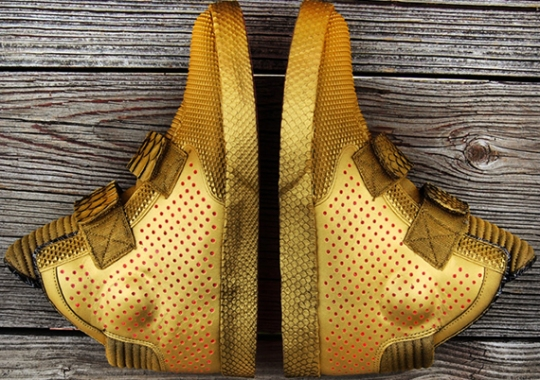 "Nike Flystepper 2k3 ""Gold Stepper"" by Gourmet Kickz"