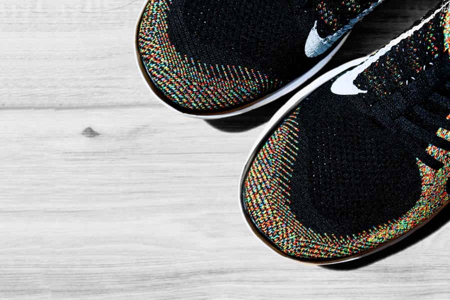 Nike Free Flyknit 4,0 Sneaker Nyheter Logo