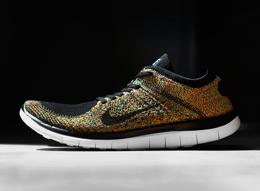 "Nike Free 4.0 Flyknit ""Multi-Color"" - SneakerNews.com"