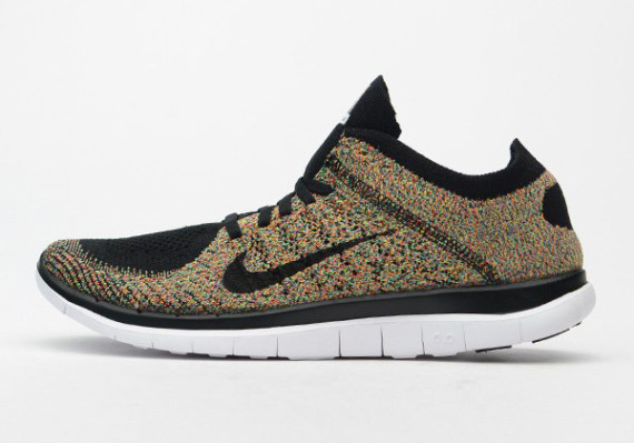 nike free flyknit 4 0 flynit multi color pack summer 2014 06 570x399 Nike Free 4.0 Flyknit Multi color Pack for Summer 2014