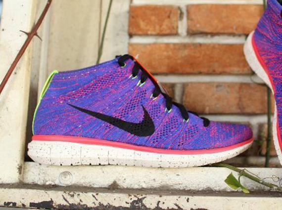 best website 01ee9 738f3 Nike Free Run Flyknit Purple endeavouryachtservices.co.uk