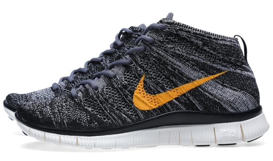Nike Gratuit Flyknit Chukka Fond Noir Et Blanc 1MRW0CHn8k