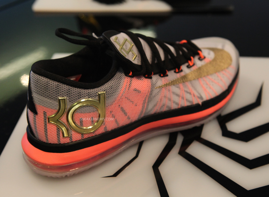 "Nike KD 6 Elite ""Gold"" - Release Date - SneakerNews.com"