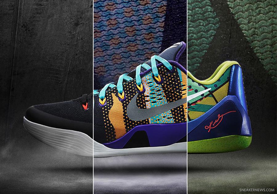kobe 9 em black/white lsr crmsn wlf gry Nike