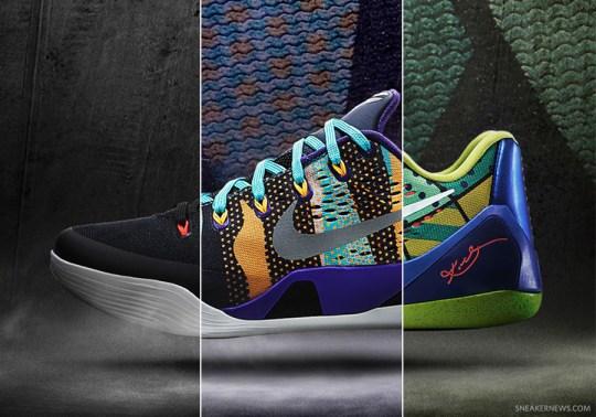 Nike Kobe 9 EM – Summer 2014 Release Dates