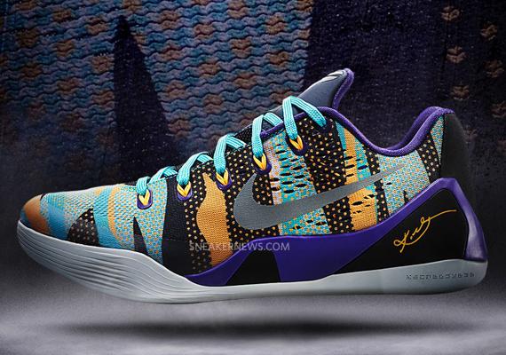 Nike Kobe 9 EM – Court Purple – Reflective Silver – Atomic Mango