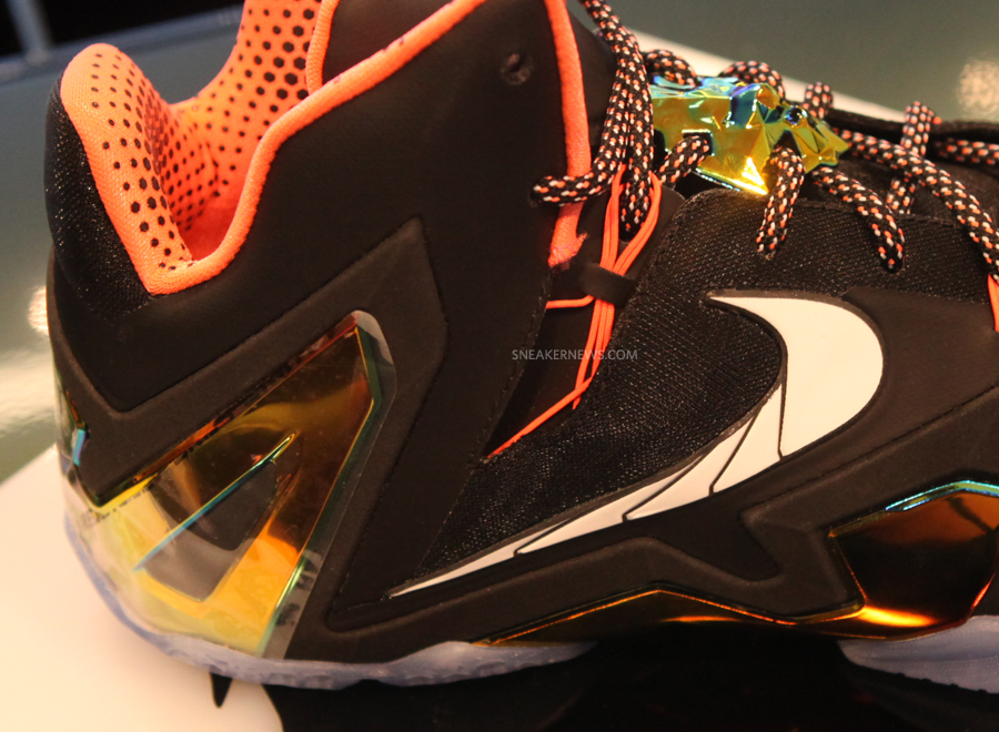 Lebron 11 Elite Gold Collection