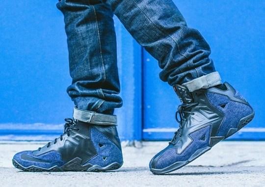 "Nike LeBron 11 EXT ""Denim"" – Release Date"