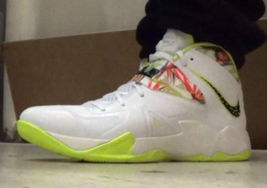 """Nike Zoom LeBron Soldier 7 """"King's Pride"""""""