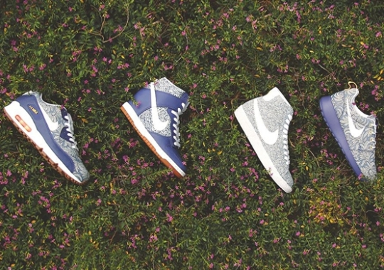 A Detailed Look at the Liberty x Nike Sportswear Summer 2014 Collection