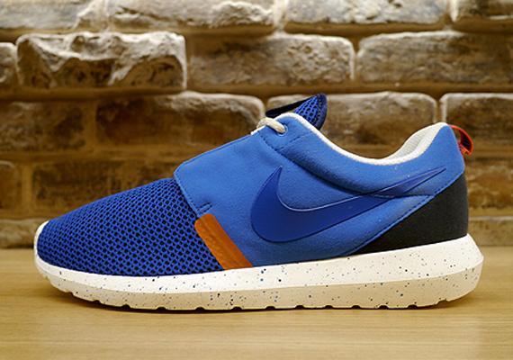 Nike Roshe Run NM - Military Blue - Orange