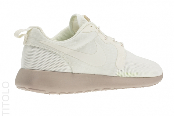 15fabcb56319 Nike WMNS Roshe Run Hyperfuse Color  Sail Sail-Medium Orewood Brown-Volt  Style Code  642233-100