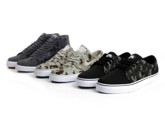 """Nike SB """"Camo"""" Pack for Summer 2014"""