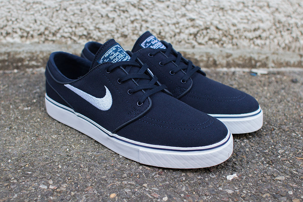 nike sb stefan janoski canvas obsidian white. Black Bedroom Furniture Sets. Home Design Ideas