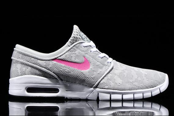 Nike Sb Janoski Max Grey Magenta