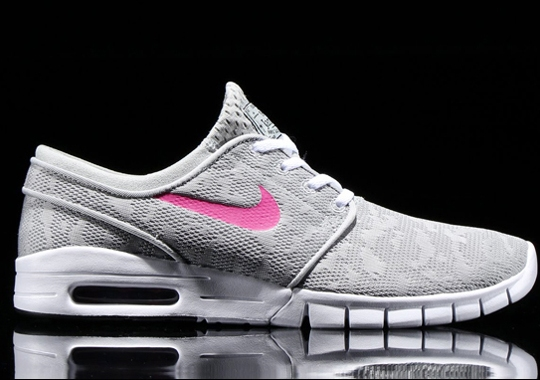 Nike SB Stefan Janoski Max – Grey – Pink
