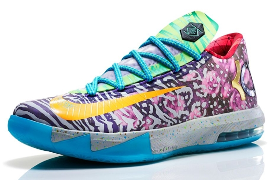 Nike What the KD 6. Color  Hoop Purple Urgent Orange-Shark Style Code   669809-500. Release Date  06 07 14. Price   150. show comments 1b1745451a