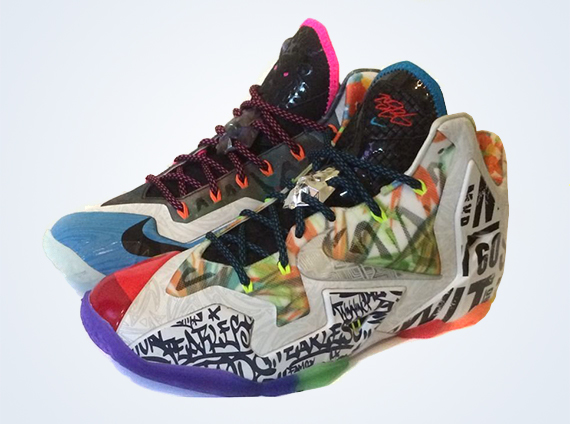 nike what the lebron 11 sample on ebay