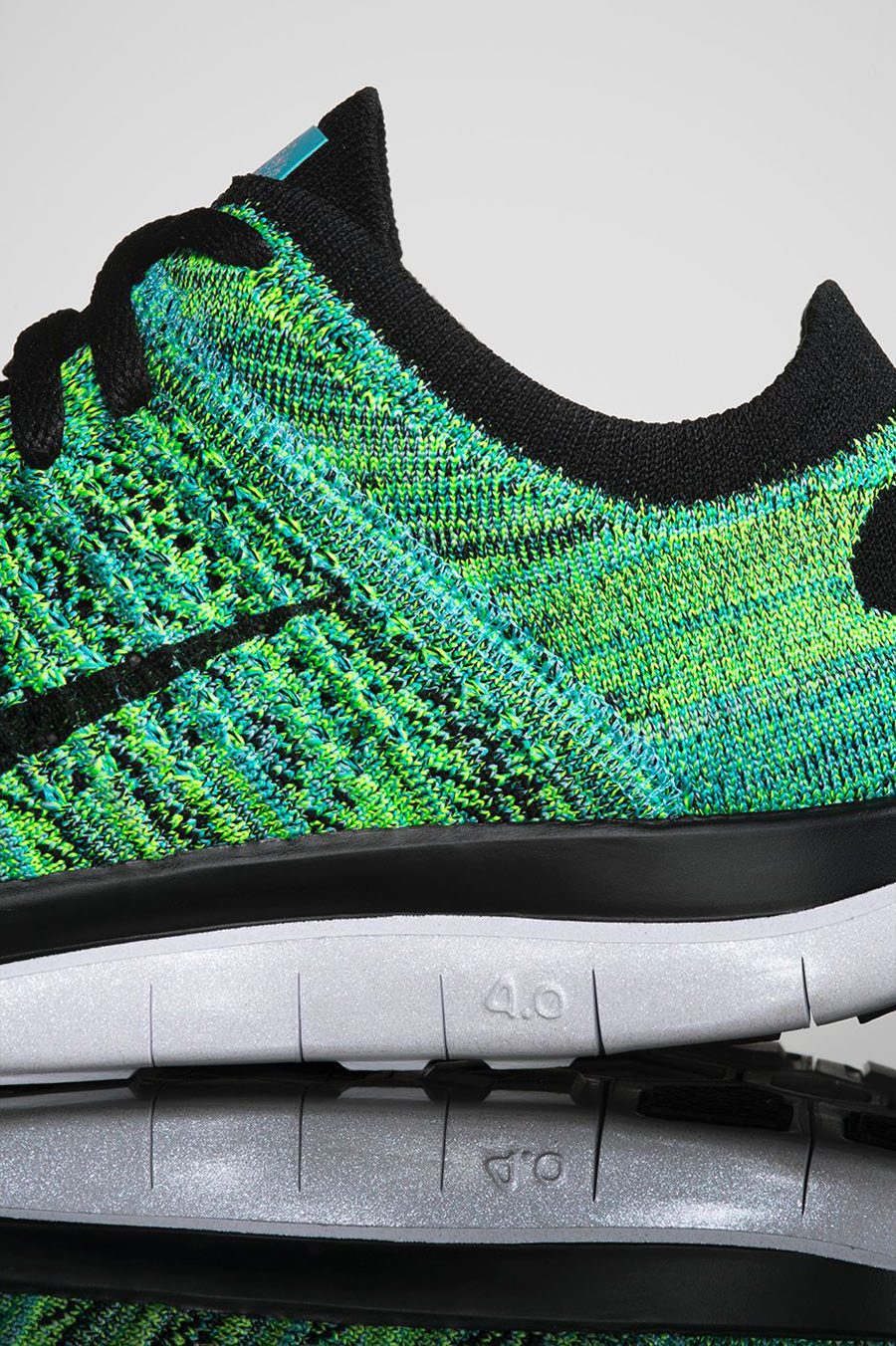 nike free 4.0 flyknit dc limited edition - womens