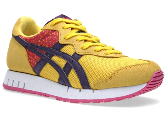 Onitsuka Tiger X-Caliber – Yellow – Purple Pennant