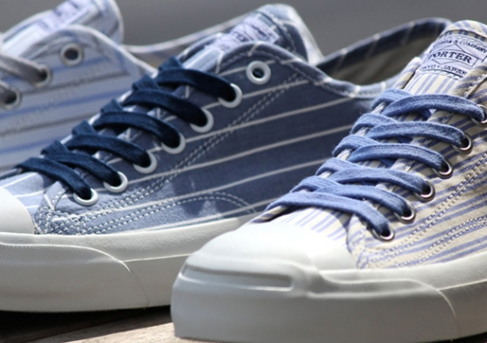 """Porter x Converse Jack Purcell """"Pouch Pack"""""""