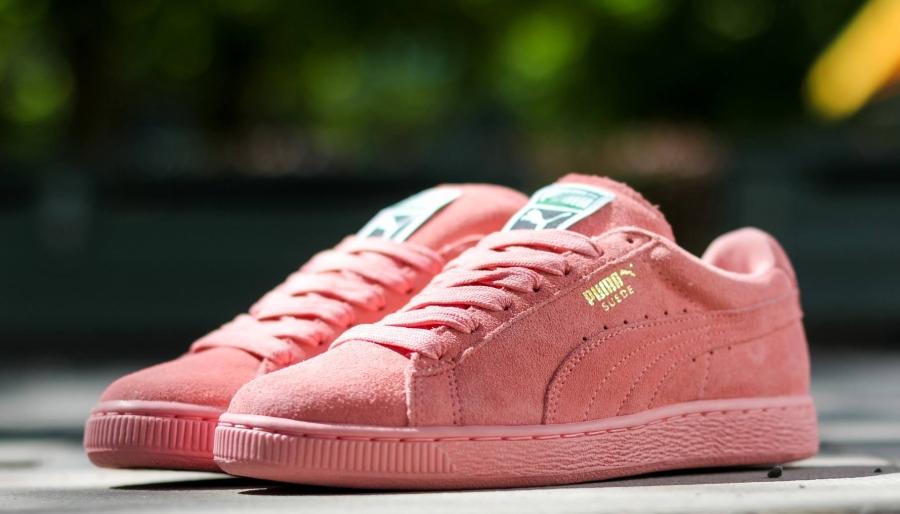 dusty pink pumas