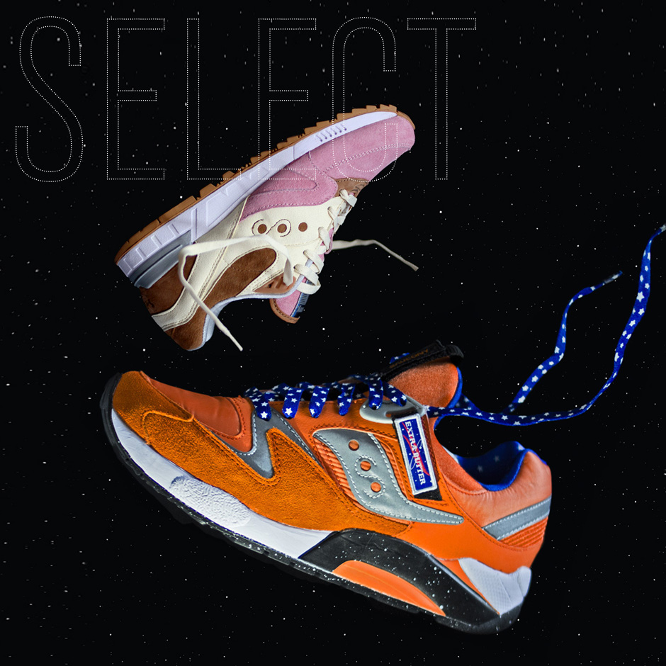 SELECT PREVIEW: Extra Butter & Saucony Go To Outerspace