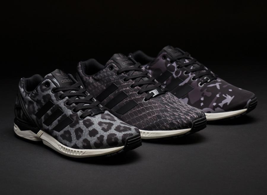 sns x adidas zx flux pattern pack. Black Bedroom Furniture Sets. Home Design Ideas