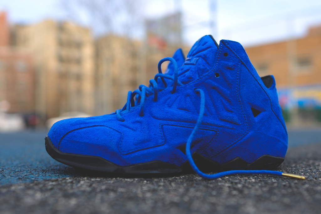 "Nike LeBron 11 EXT QS ""Blue Suede"" – Release Reminder"