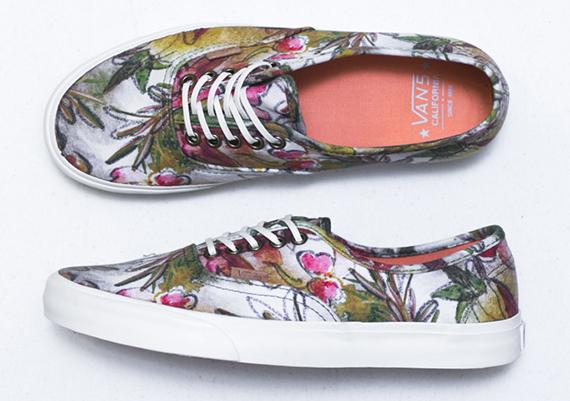 vans california floral