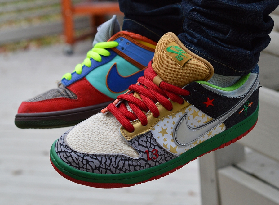 """The First Nike """"What The"""" Sneaker - SneakerNews.com"""