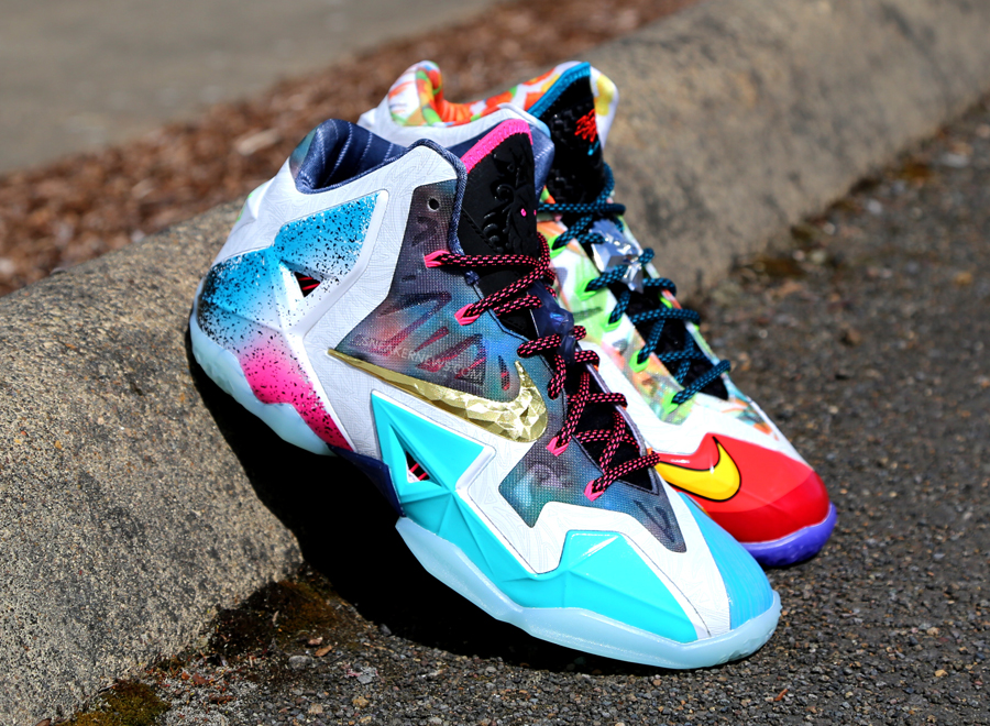 sale retailer aae5a add85 Greatest Hits  The Nike What The LeBron 11 - SneakerNews.com