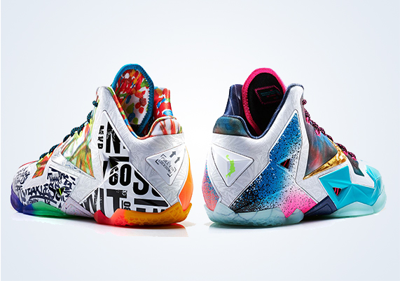 """Nike """"What the LeBron"""" 11 Price Confirmed at $250 ...Lebron 11 Customize Ideas"""