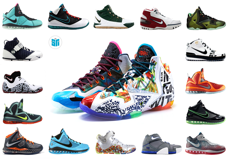 all lebron shoes ever made