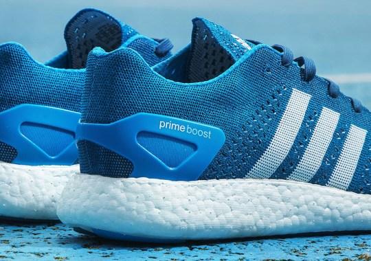 "adidas Primeknit Pure Boost ""Solar Blue"" – Euro Release Date"