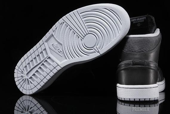 Air Jordan 1 Mi Nouveau Anthracite / Blanc / Noir iuEy73jL