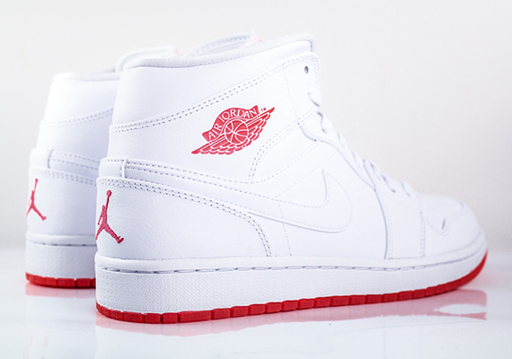 Air Jordan 1 Balance Des Blancs Infrarouge