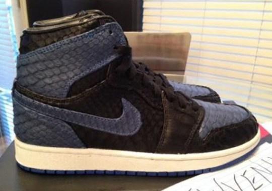 "One of JBF Customs' Air Jordan 1 ""Python"" Appears on eBay"