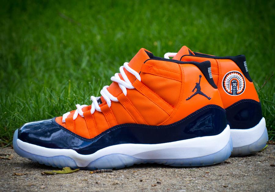 "Air Jordan 11 ""Big 10 Conference"" Customs by Dillon ..."