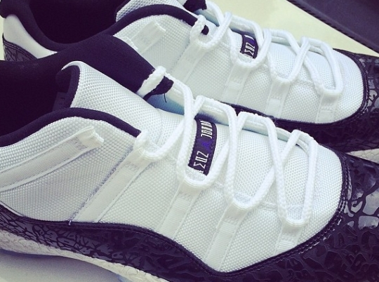 "Air Jordan 11 Low ""Concord Laser"" for Chi McBride"