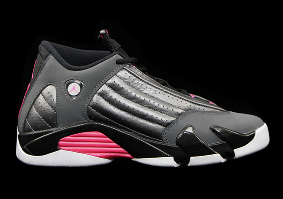 new style 9e88e cbc8c Air Jordan 14 GS - Grey - Pink - White - SneakerNews.com