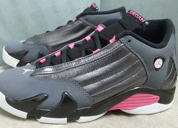 Air Jordan Gray And Pink