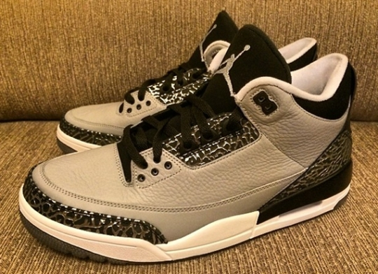 Air Jordan 3 Retro – Wolf Grey – Black